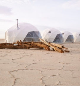 Some of the most remote places to sleep are also some of the swankiest…