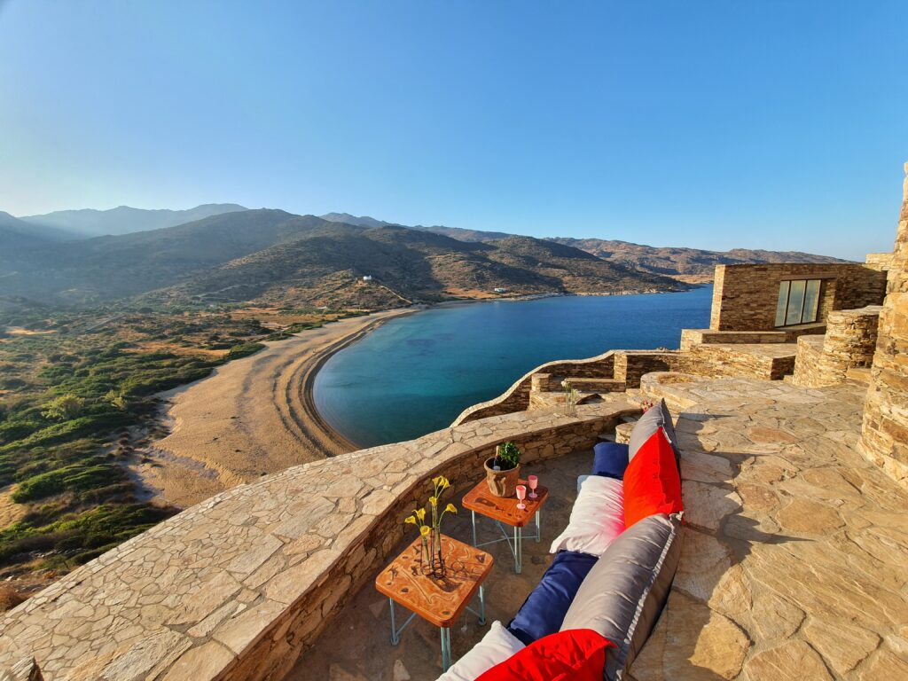 Calilo Ios Greece overlook