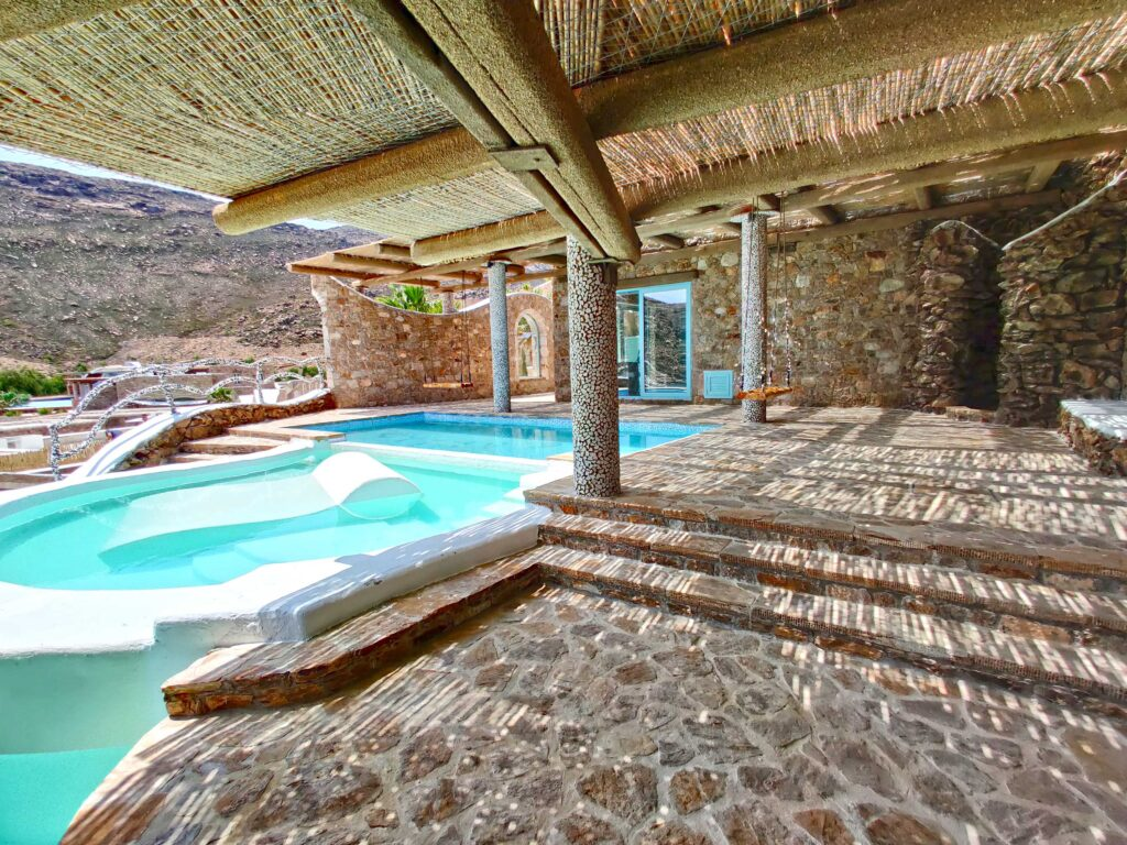 Calilo Ios Greece pool