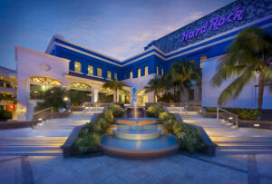 Hard Rock Hotel Riviera Outside Front View