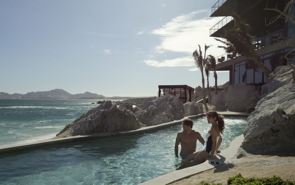 Saltwater Pool with Guests - The Cape, a Thompson Hotel - Photo Credit Thomas Hart Shelby