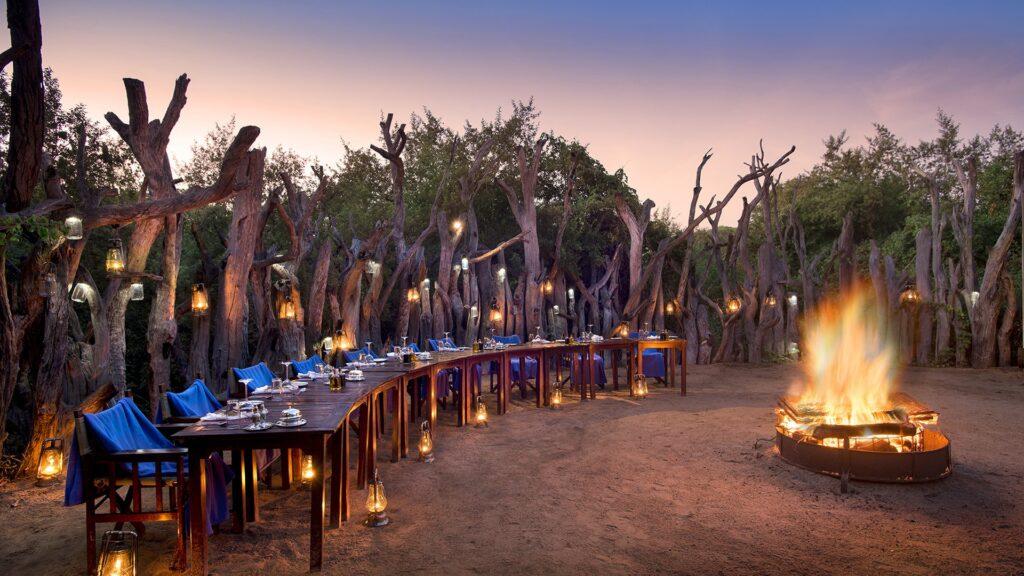 Royal Chundu Zambezi River Lodge Exteriors Boma