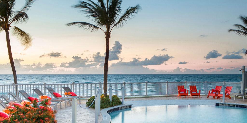 Pool at Pelican Beach Resort