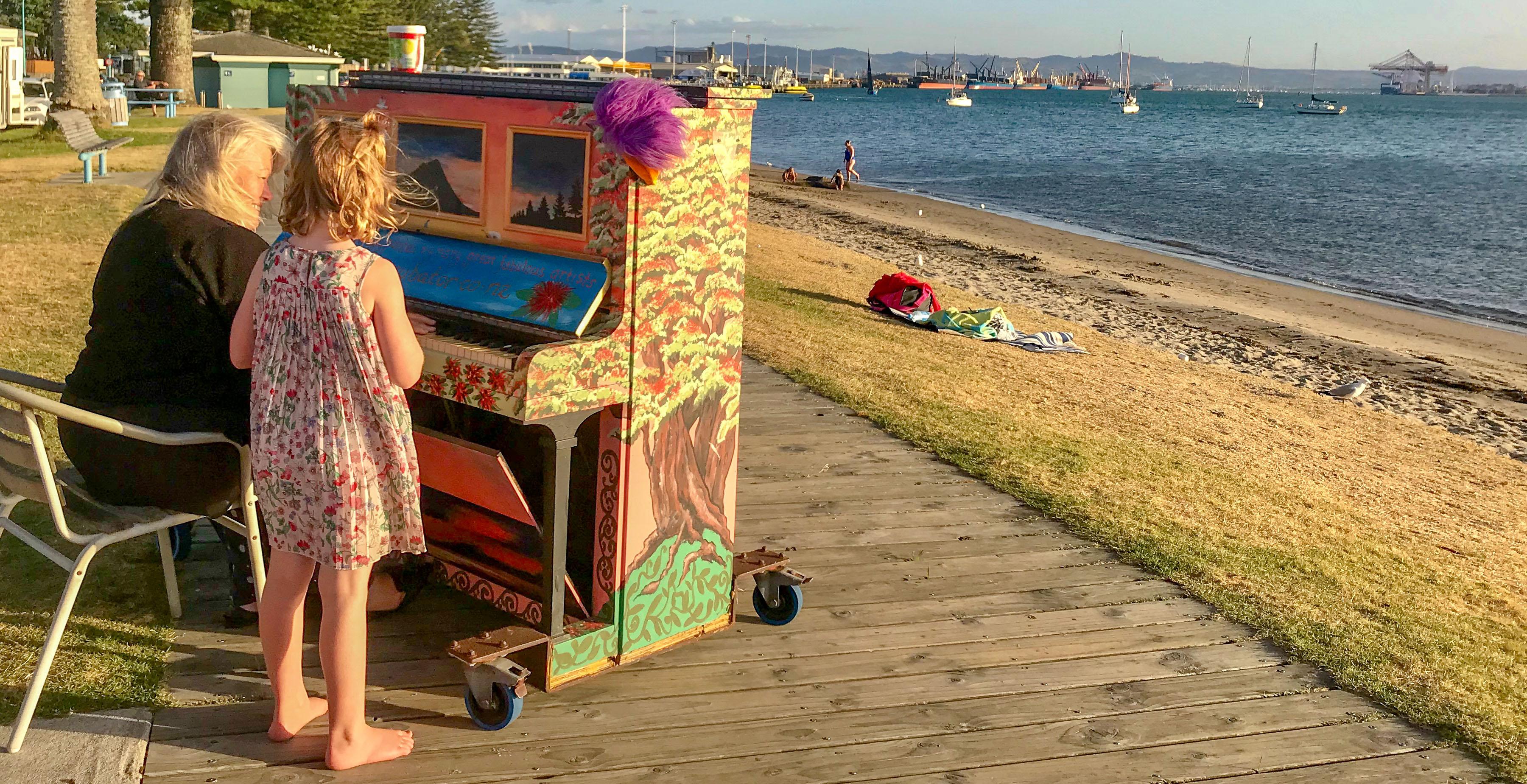 Maori New Zealand piano