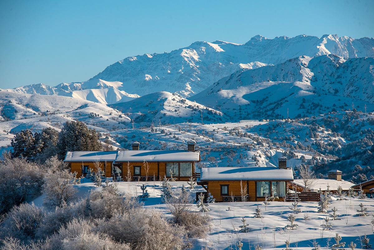 Uzbekistan Ski Lodge