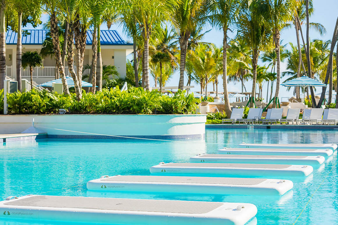 4 PR Fairmont El San Juan Hotel - Well and Being Pool, Float Fit Class