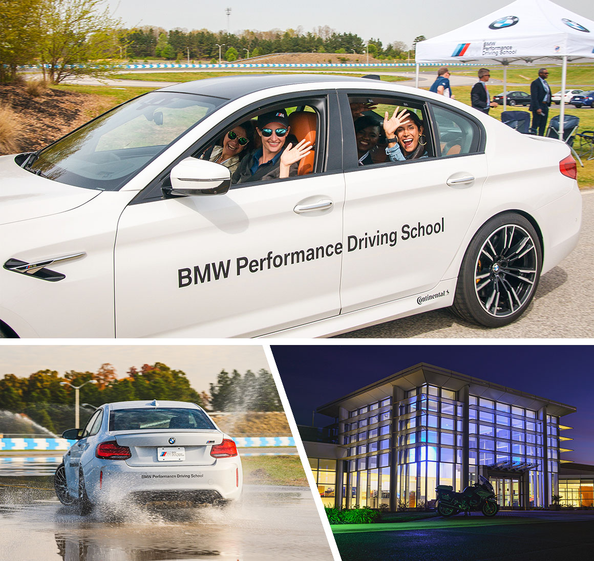 BMW Driving School Test Drivers
